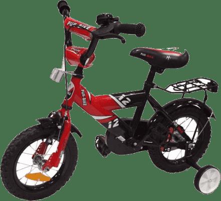 ALEXIS Detský bicykel 1201 Fun bike – červený