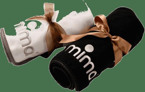 MIMA Prikrývka béžová 75x100 cm