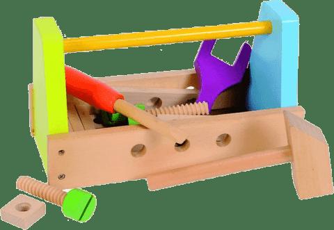 SIMBA Drewniany box z narzędziami