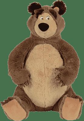 SIMBA Masza i Niedźwiedź Pluszowy miś 50cm siedziący