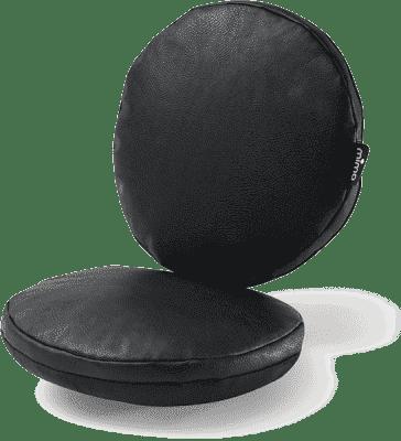MIMA Sada sedacích vankúšikov do stoličky Moon čierna