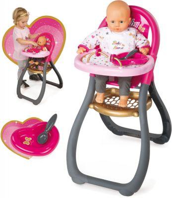SMOBY Baby nurse - jídelní židlička pro panenku