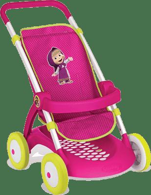 SMOBY Wózek sportowy dla lalek Masza i Niedźwiedź