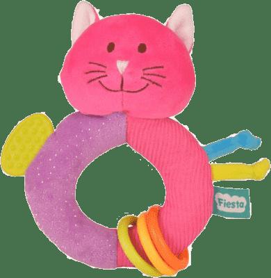 FIESTA CRAFTS Hrkálka s hryzátkom – Mačička