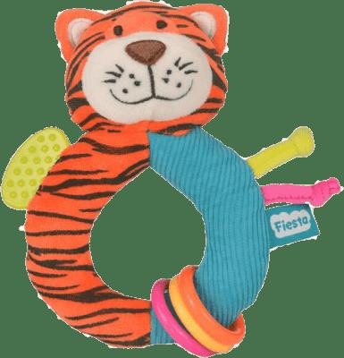 FIESTA CRAFTS Hrkálka s hryzátkom – Tiger