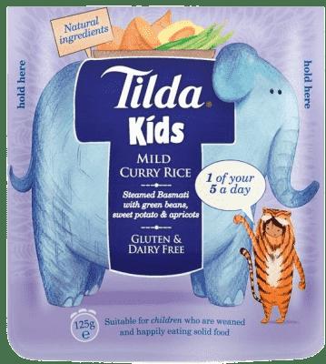 TILDA Detská ryža - Sladké Curry - 125g
