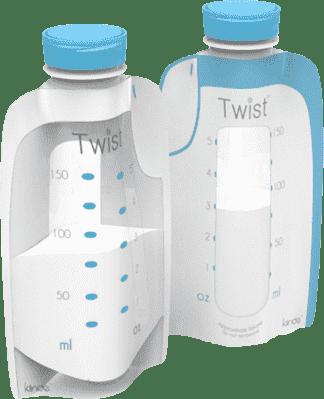 KIINDE Twist – Woreczki do przechowywania pokarmu 20 szt.