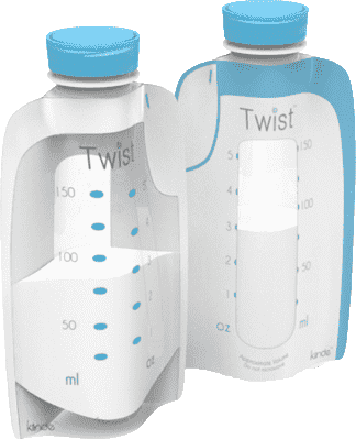 KIINDE Twist – Váčky na mateřské mléko 20ks 6pr