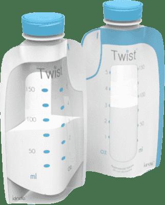 KIINDE Twist – Woreczki do przechowywania pokarmu 80 szt.