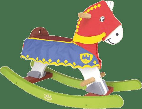 VILAC Dřevěný houpací kůň pro rytíře