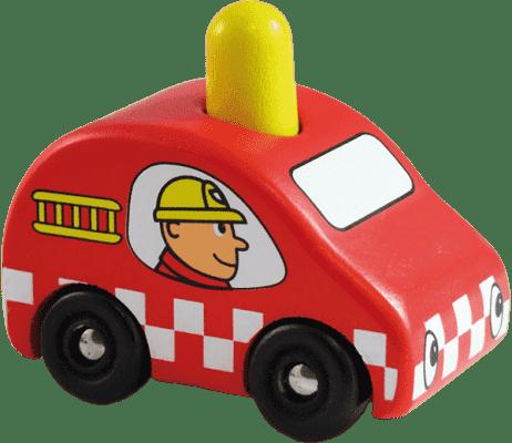 VILAC Drevené pískajúce hasičské auto