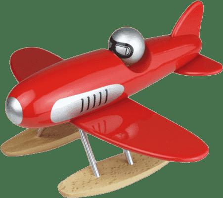 VILAC Dřevěná hračka - Dřevěné designové letadlo - Hydroplán