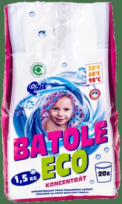 QALT Batole Eco koncentrát 1,5 kg - prací prostředek