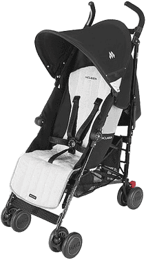MACLAREN Spacerówka Quest – black/silver