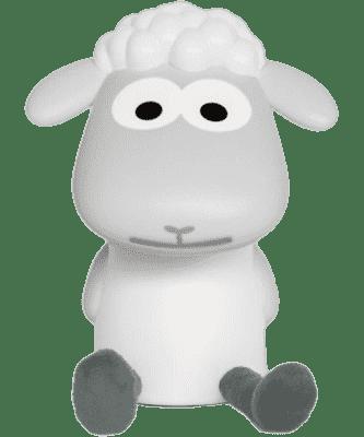 ZAZU Lampička na čtení ovečka FIN šedá