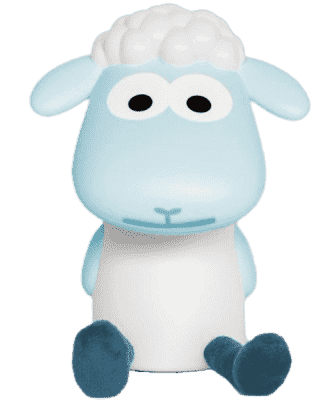 ZAZU Lampka do czytania owieczka FIN niebieska