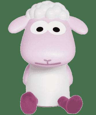 ZAZU Lampka do czytania owieczka FIN różowa