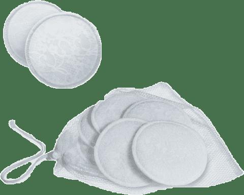 AVENT Prsné absorpčné vložky bavlnené - pracie - 6 ks