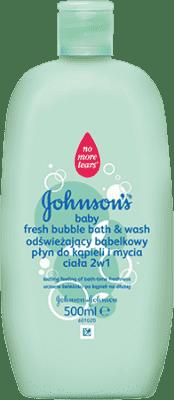 JOHNSON'S BABY Bublinková koupel a mycí gel fresh 2 v 1 (500 ml)