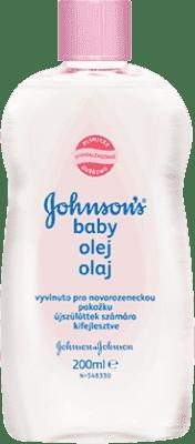 JOHNSON'S Detský olej (200 ml)