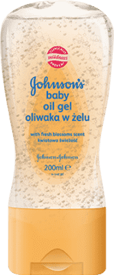 JOHNSON'S BABY Olejový gél kvety (200 ml)