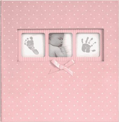 FOTOALBUM Baby Dot 10x15 / 200 foto, ružový