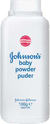 JOHNSON'S BABY Púder (100 g) - proti zapareninám