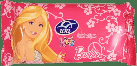 UNI Barbie 15 ks - vlhčené obrúsky
