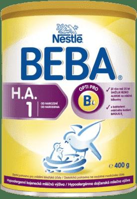 NESTLÉ BEBA Optipro HA 1 (400 g) - dojčenské mlieko