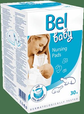 BEL BABY prsní vložky – nesterilní (30 ks)