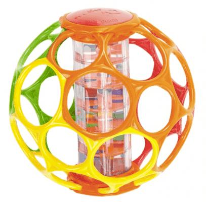 OBALL Hračka Rollin Rainstick 15 cm, 3+m