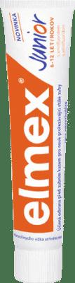 Zubná pasta detská ELMEX Junior 6-12 rokov 75ml