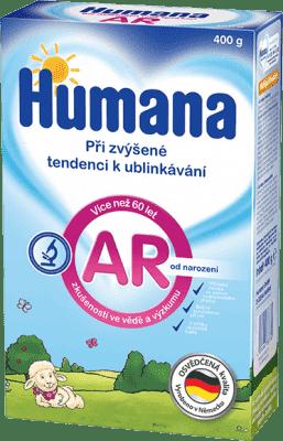 HUMANA A.R. špeciálna výživa pri grckaní dojčiat (400 g)