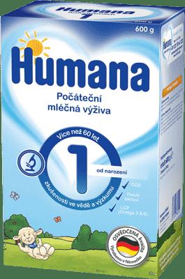 HUMANA 1 (600 g) - dojčenské mlieko