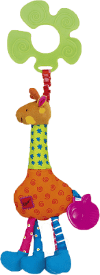 K´S KIDS Úchyt na kočárek žirafa Igor