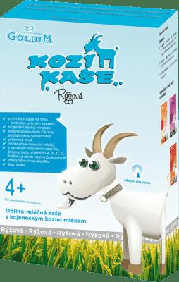 KOZÍ KAŠE Rýžová (4m+), 225 g