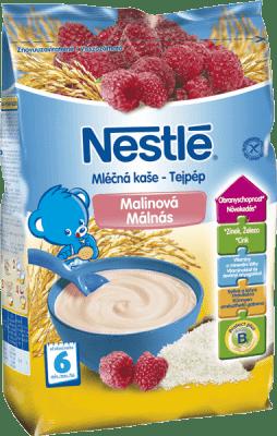 NESTLÉ malinová (230 g) -mliečna kaša