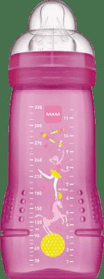 MAM Baby Bottle - láhev, savička vel.3, 330ml růžová – náhodný motiv