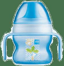 MAM Starter cup 150 ml modrý – náhodný motiv