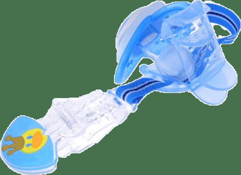 MAM Clip and Cover (pásek na dudlík s krytkou) kluk – náhodný motiv