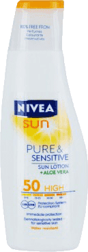 NIVEA Sun Mleczko do opalania sensitive SPF 50, 200ml