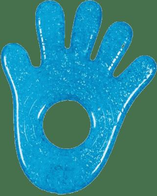 MUNCHKIN Modré chladivé gelové hryzátko ruka/noha