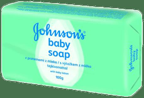 JOHNSON'S BABY Mydło z proteinami z mleka 100g (Feedo klub)