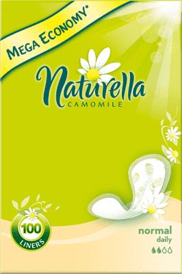 NATURELLA Camomile Normal, 100ks – intímky