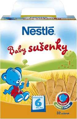 NESTLÉ Baby sušienky (180 g)