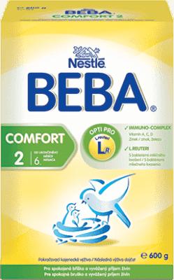 NESTLÉ Beba Comfort 2 (600 g) - dojčenské mlieko