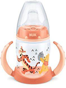 NUK Fľaša na učenie Disney PP, 150 ml, silikónový náustok (6-18 m) – oranžová