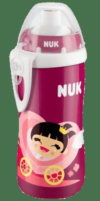 NUK First Choice Láhev PP Flexi Cup 300 ml, flexi pítko (24+ m) – holka