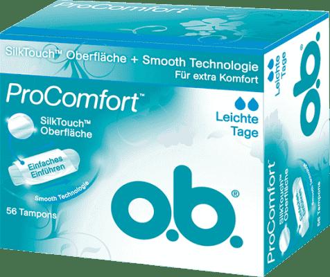 O.B. Tampóny ProComfort Light Days (56 ks)