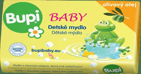 BUPI Dětské mýdlo s olivovým olejem 100 g